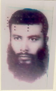 Mugshot of Abu Khahab al Masri, Egyptian terrorist and chemical weapons expert