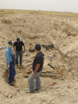 ICMP Iraq bones - International Commission on Missing Persons