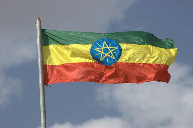 Ethiopian flag-Flickr/hauteboy