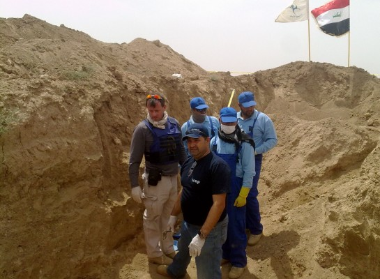 Iraq grave - International Commission on Missing Persons