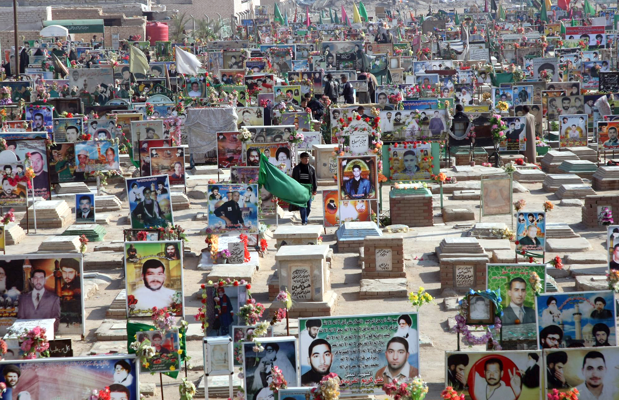 Najaf cemetary - GettyImages