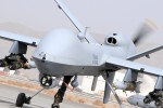 "A Reaper MQ-9 Remotely Piloted Air System (RPAS) prepares for takeoff in Afghanistan. Remotley Piloted Air System (RPAS) are growing in importance and the RAF formed 39 Sqn at Creech Air Force Base in Nevada in 2007 to operate RAF MQ-9 PREDATOR B ""REAPER"" aircraft alongside the USAF squadrons. The UK has purchased a number of Reaper aircraft in support of UK ground forces in Afghanistan under the Reaper Urgent Operational Requirement (REAPER UOR). Reaper provides real-time video imagery to ground commanders, and has the capability to attack ground targets if required. The RAF and UK MoD has also taken the first step towards the next generation of Unmanned Combat Air Systems (UCAS). Project TARANIS, a joint MoD/BAESYSTEMS (plus other key UK industrial partners) venture, was unveiled in 2010 and a demonstrator is due to fly in 2011 in Woomera, Australia and it will be used to evaluate how RPAS/UCAS will contribute to the RAF's future mix of aircraft."