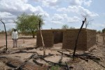 Razed building in South Kordofan- Flickr/ENOUGH Project