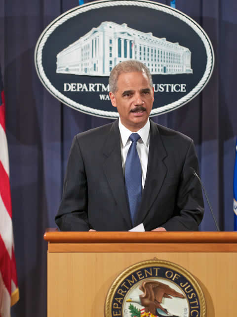 Holder (DoJ Lonnie Tague)